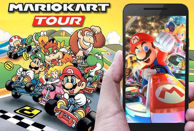 Mario Kart Tour sgasa su iOS e Android
