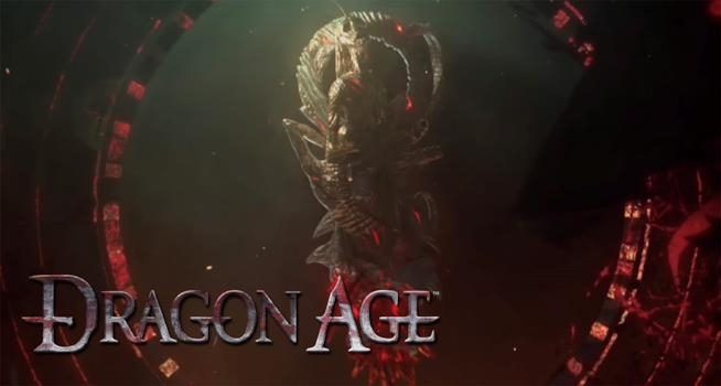 Uno screen del teaser sul nuovo Dragon Age di BioWare