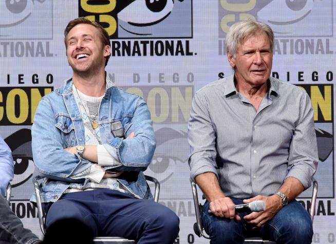 Gli affascinanti attori Harrison Ford e Ryan Gosling insieme