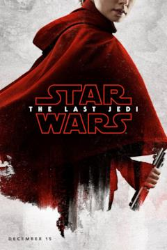 Rey nel character poster di Star Wars - Gli ultimi Jedi