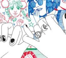 La cover del fumetto dedicato alle ragazze degli anni '90