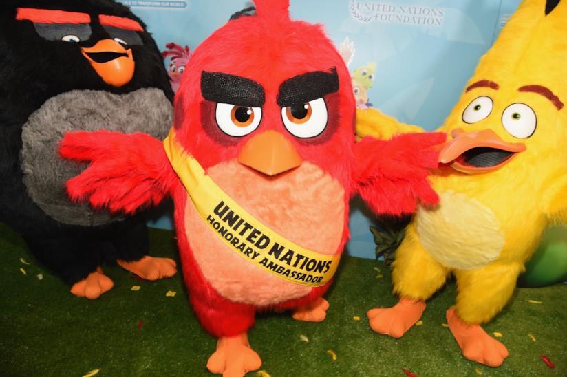 Nazioni Unite, Red di Angry Birds ambasciatore onorario