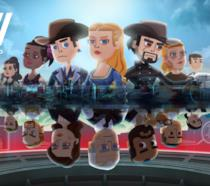 Un concept art del gioco dedicato a Westworld