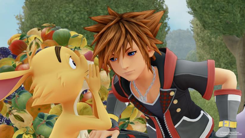 Sora nel mondo di Winnie the Pooh in Kingdom Hearts 3