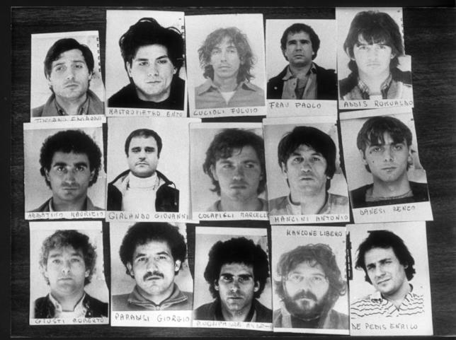 I componenti della banda della Magliana