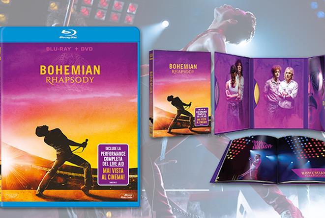 L'home video di Bohemian Rhapsody