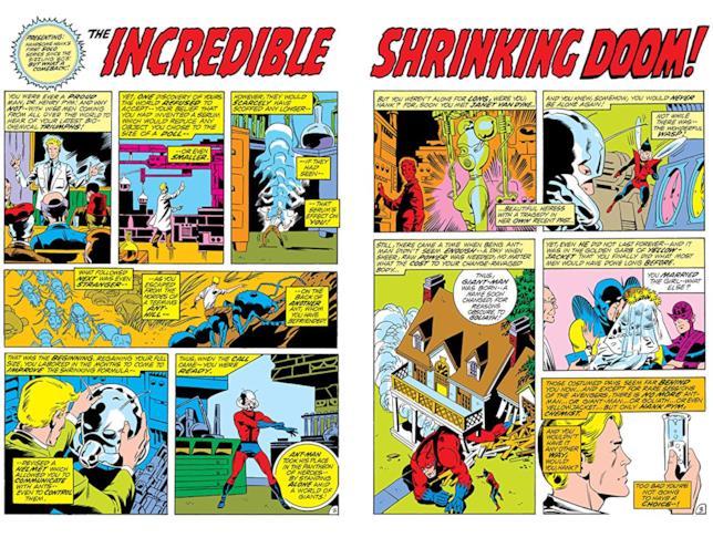 Le prime pagine di La fine di Ant-Man