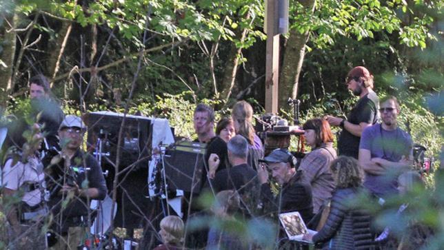 Set del revival di Twin Peaks