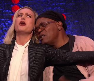 Shallow: la parodia di Brie Larson e Samuel L. Jackson