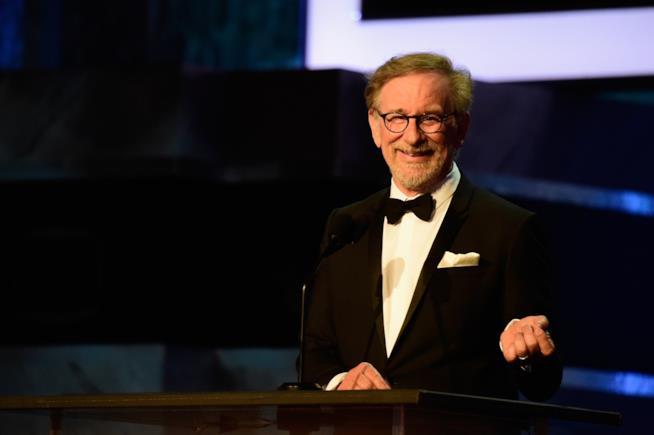 Un elegantissimo Steven Spielberg
