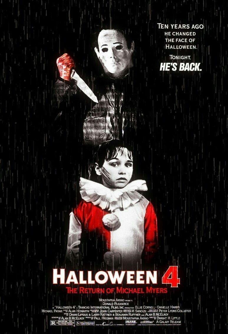 La locandina di Halloween 4