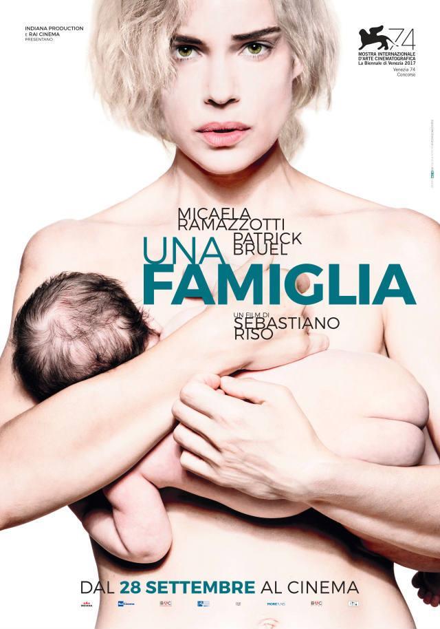 Poster ufficiale di Una famiglia, il film diretto da Sebastiano Riso