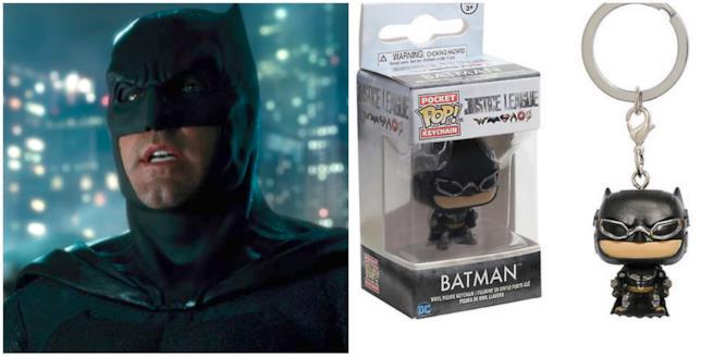 Batman e il suo portachiavi