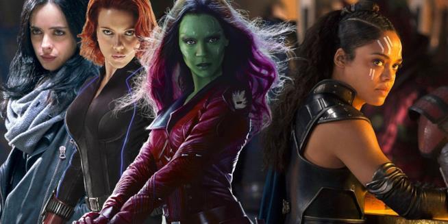 Le supereroine dell'Universo Cinematografico Marvel