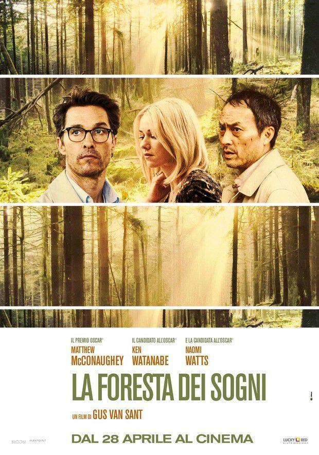 Poster del film la Foresta dei Sogni di Gus Van Sant