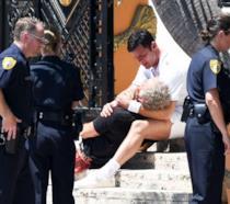 Uno dei primi scatti dal set di Versace: American Crime Story