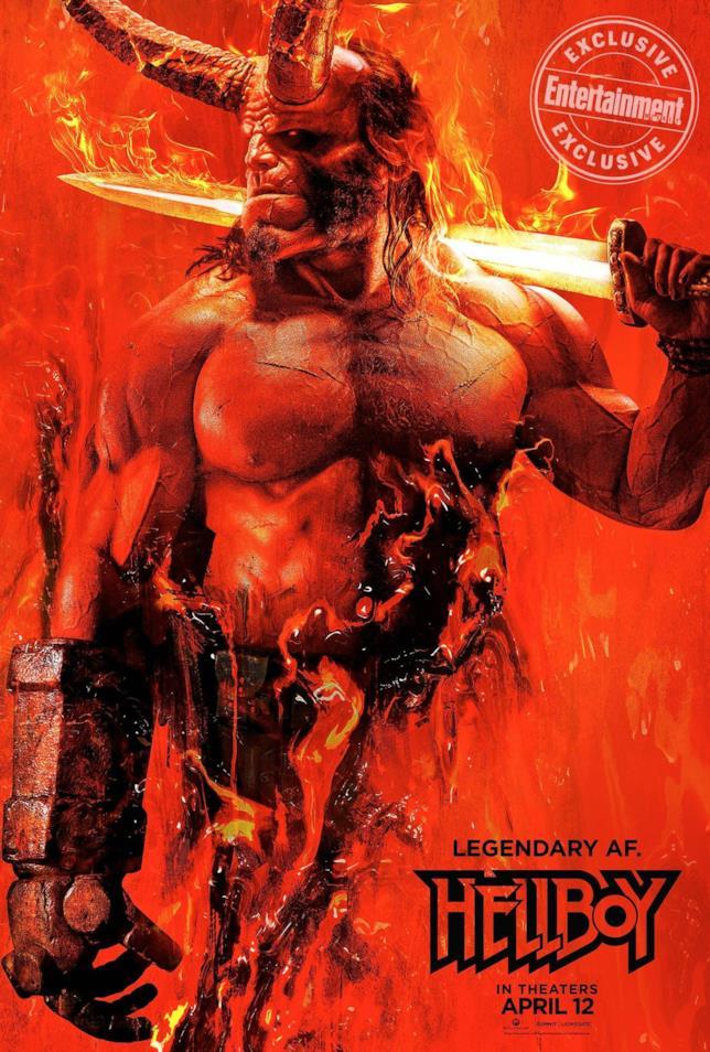 Il poster di Hellboy