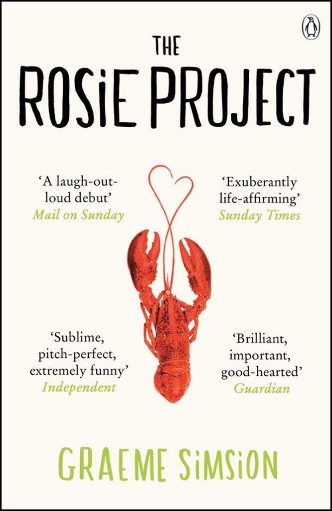 La copertina di Rosie Project