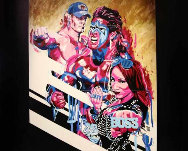 I primi atleti di WWE 2K17 ritratti da Rob Schamberger