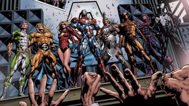 I Dark Avengers nei fumetti Marvel Comics