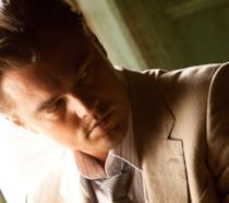 Un primo piano di Leonardo DiCaprio in Inception