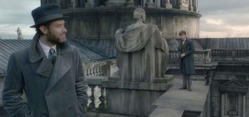 Jude Law e Eddie Redmayne