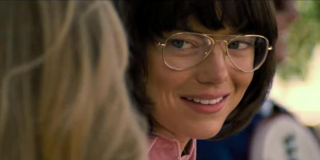 Emma Stone è Billie Jean King nel film La Battaglia dei Sessi