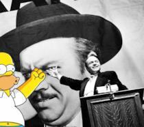 Una delle più celebri scene di Quarto Potere con annesso Homer Simpson