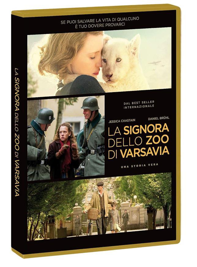 Spezzoni del film La signora dello zoo di Varsavia
