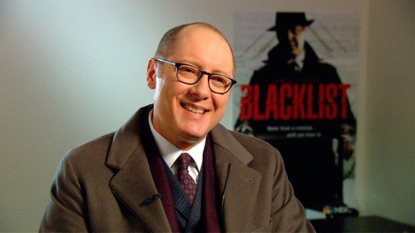 James Spader in uno scatto promozionale di The Blacklist, serie di cui è protagonista