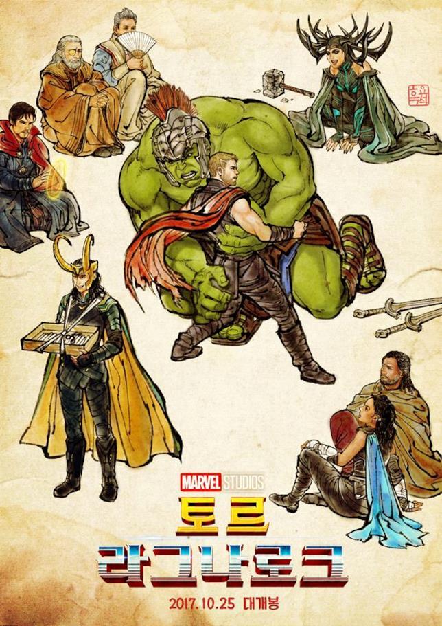 Nuovo poster di Thor: Ragnarok
