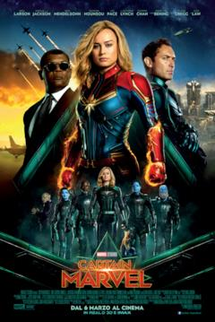 La Star Force nel postere ufficiale di Captain Marvel