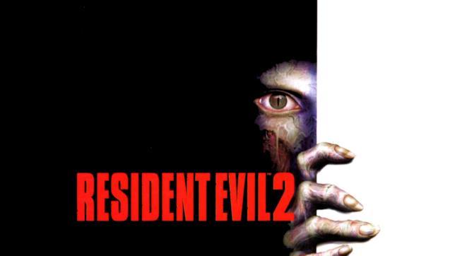 Il logo ufficiale del secondo Resident Evil