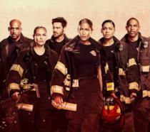 I membri del cast della terza stagione di Station 19 in un'immagine promozionale