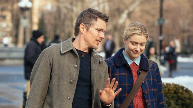 Un'immagine tratta dal film Il Piano Di Maggie
