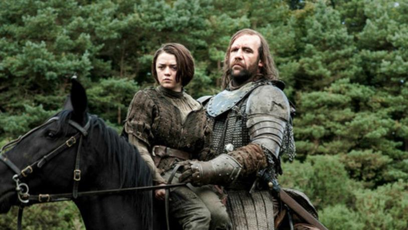 Game of Thrones, Arya con il Mastino