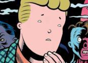 La cover del fumetto dark di Charles Burns