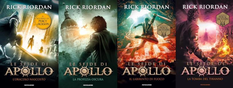 I quattro libri editi de Le sfide di Apollo