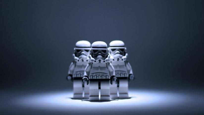 Stormtrooper in versione LEGO