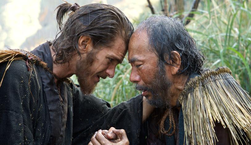 Andrew Garfield in una scena del film