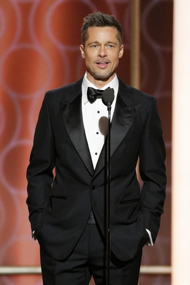Brad Pitt ai Golden Globes