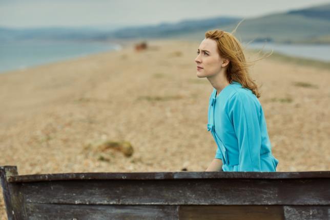 Saoirse Ronan in una scena del film