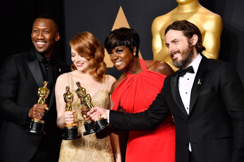 I vincitori degli Academy Awards per i migliori attori