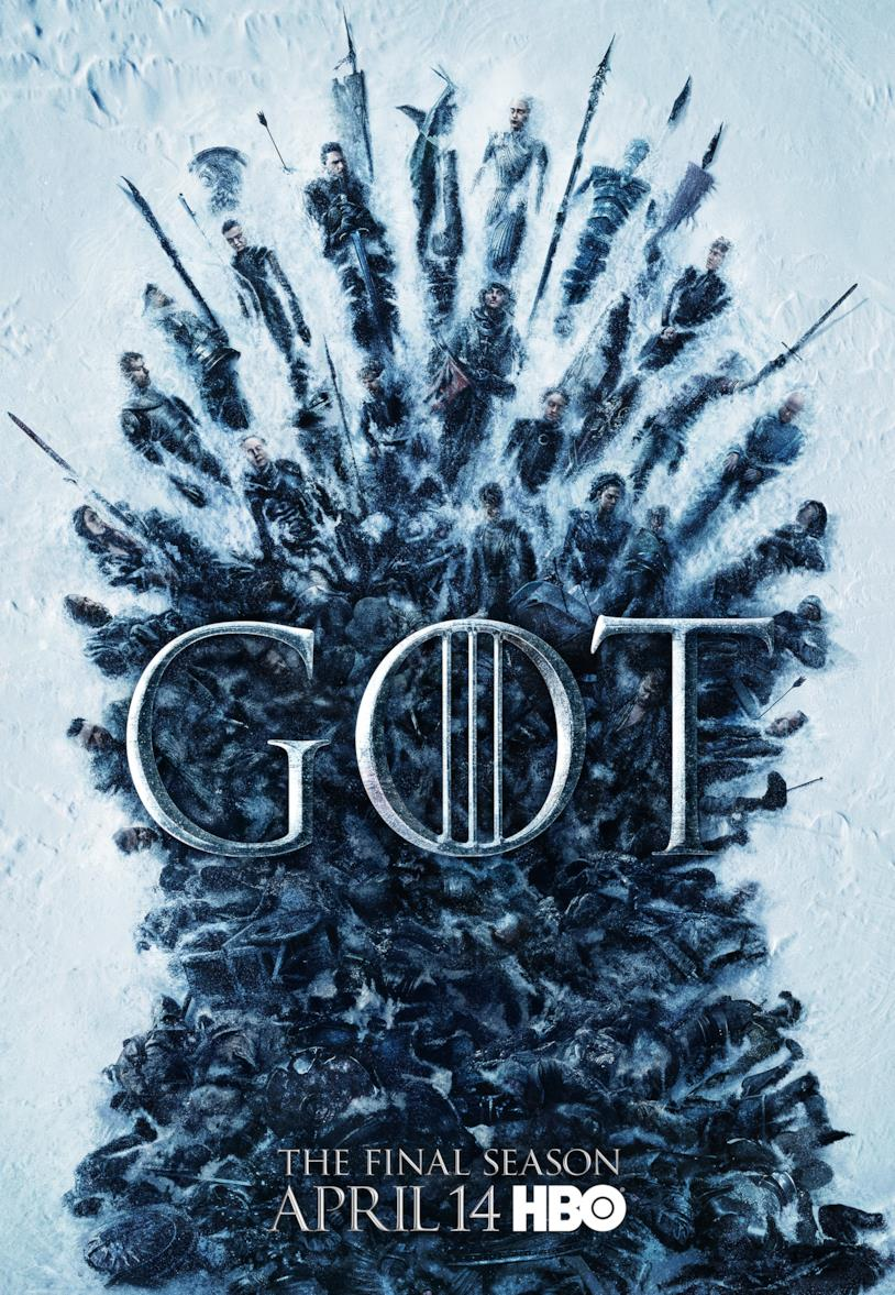 Locandina di Game of Thrones 8