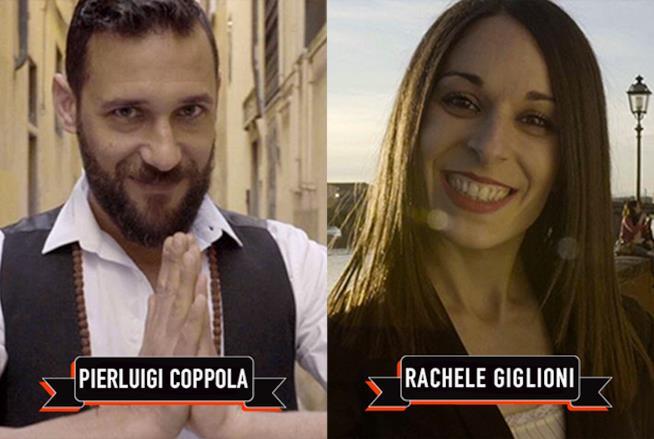 I concorrenti del secondo episodio, Pierluigi e Rachele