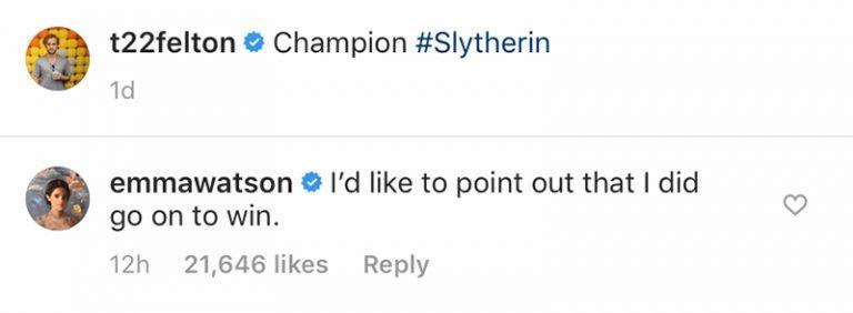 Emma Watson ha commentato il dietro le quinte di Harry Potter