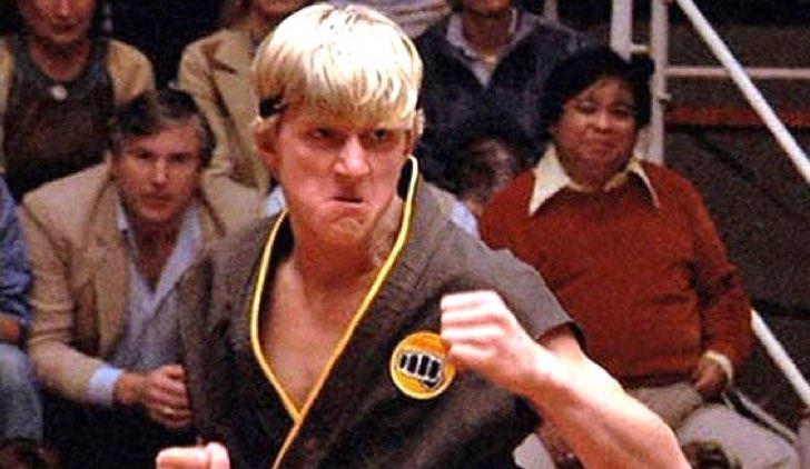 Una scena di Per vincere domani - The Karate Kid con Johhny Lawrence