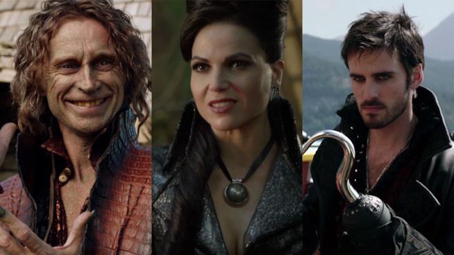 Tremotino, Regina e Uncino pronti a tornare nella settima stagione di C'era Una Volta