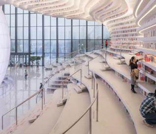 La bellissima libreria che ha appena aperto in Cina vi toglierà il fiato [GALLERY]