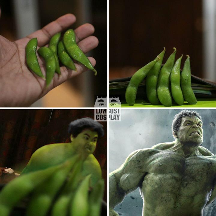 Low cost Cosplay: Hulk
